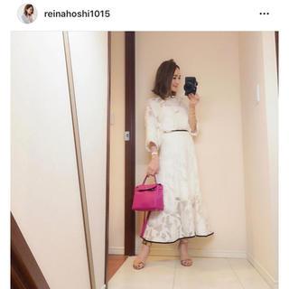グリード(GREED)の【星玲奈さん着用】Flower Pattern Jacquard Skirt♡(ロングスカート)