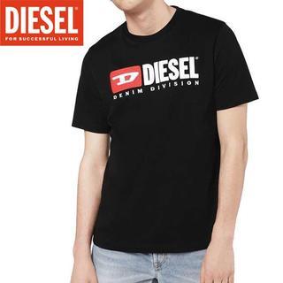 ディーゼル(DIESEL)の【45】DIESEL『T-JUST-DIVISION』ブラック ロゴTシャツXS(Tシャツ/カットソー(半袖/袖なし))