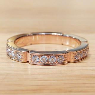 カルティエ(Cartier)の超美品 カルティエ マイヨン パンテール リング 指輪 ピンクゴールド ダイヤ(リング(指輪))