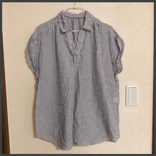しまむら - CLOSSHI✩ ストライプシャツ XL