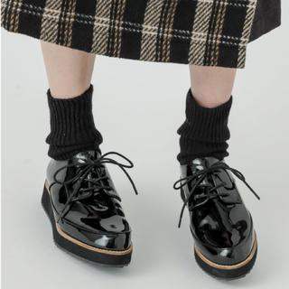 ミスティック(mystic)のmystic エナメルレースアップシューズ(ローファー/革靴)