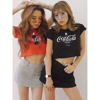 GYDA - 新品 GYDA ジェイダ WEB限定 Coca-cola ショートTシャツ
