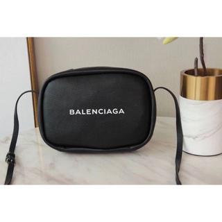 BALENCIAGA バレンシアガ カメラバッグ ショルダーバッグ 黒L