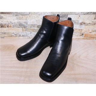 グッチ(Gucci)の定価13万円 GUCCI グッチ アンクルブーツ 黒 27,5cm(ブーツ)