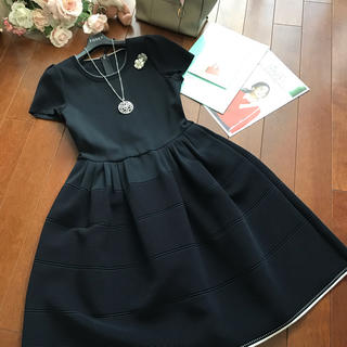 FOXEY - ♡フォクシーニットドレス♡ブラックブラック40♡