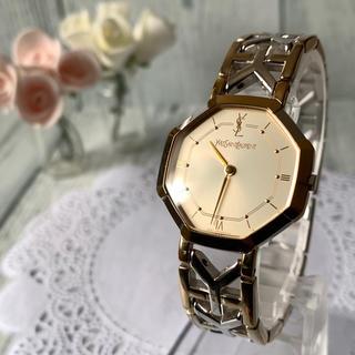サンローラン(Saint Laurent)の【電池交換済み】Yves Saint Laurent Yベルト 腕時計 メンズ(腕時計(アナログ))