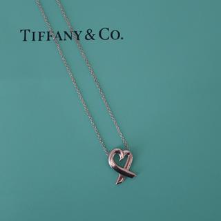 Tiffany & Co. - ティファニー ラビングハート  ネックレス