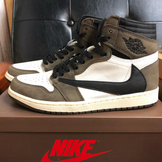 NIKE - NIKE AIR JORDAN 1 Travis scott トラビス