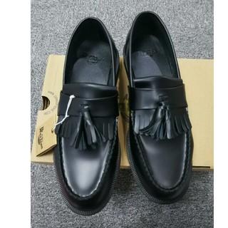 ドクターマーチン(Dr.Martens)のDr. Martensドクターマーチン 新品 タッセルローファー 黒 UK7(ローファー/革靴)