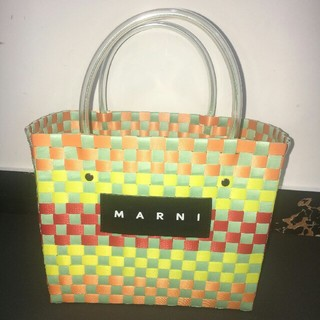 マルニ(Marni)のMarni マルニ かごバッグ 早い者勝ち 綺麗(かごバッグ/ストローバッグ)