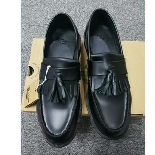 ドクターマーチン(Dr.Martens)のDr. Martensドクターマーチン 新品 タッセルローファー 黒 uk8(ローファー/革靴)