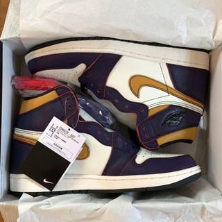 NIKE - 27cm AIR JORDAN1 LAtoCHICAGO Lakers