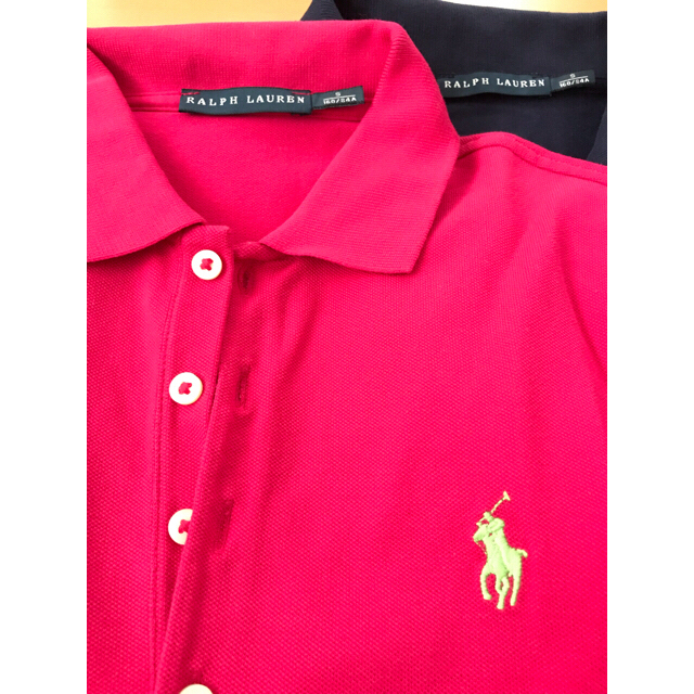 Ralph Lauren(ラルフローレン)のRalph Lauren ポロシャツ2枚セット レディースのトップス(ポロシャツ)の商品写真