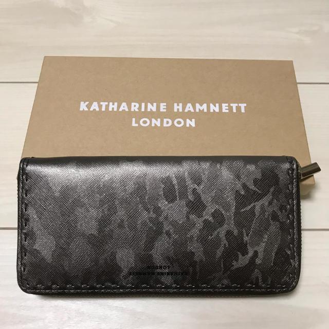 KATHARINE HAMNETT(キャサリンハムネット)のキャサリン ハムネット ロンドン 長財布 メンズのファッション小物(長財布)の商品写真