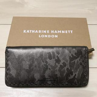キャサリンハムネット(KATHARINE HAMNETT)のキャサリン ハムネット ロンドン 長財布(長財布)