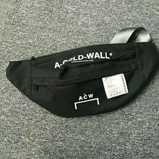 オフホワイト(OFF-WHITE)のA-COLD-WALL ショルダーバッグ キャンバス ボディーバックACW(ボディーバッグ)
