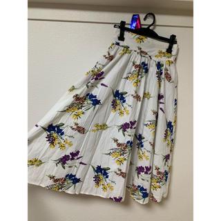 グレイル(GRL)のグレイル 花柄スカート(ロングスカート)