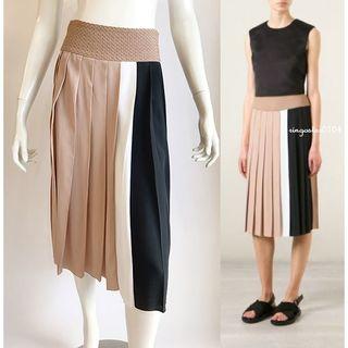 N°21 - N°21 ヌメロヴェントゥーノ*カラーブロック プリーツスカート
