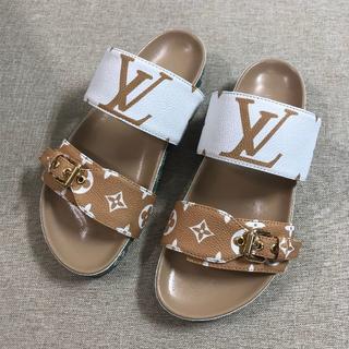 LOUIS VUITTON - LOUIS VUITTON  靴/シューズ スニーカー パンプス サンダル 37