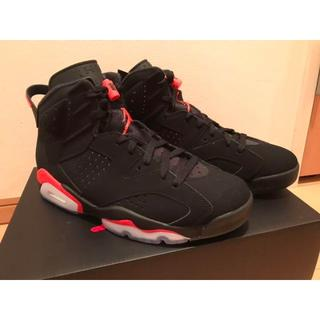 NIKE - AIR JORDAN6 infra red 27cm