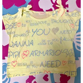 レピピアルマリオ(repipi armario)の☆レピピアルマリオ 肩あきTシャツ☆(Tシャツ(半袖/袖なし))