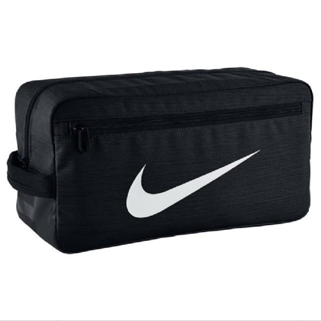 NIKE(ナイキ)のナイキ NIKE シューズケース 黒 シューズバッグ ブラック メンズのバッグ(その他)の商品写真