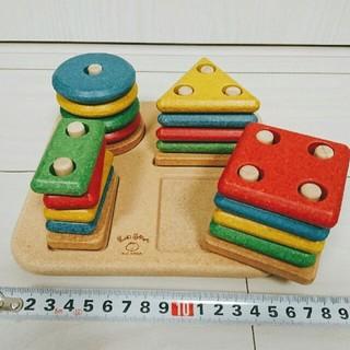 《日時指定OK》キッズスクウェア 知育玩具 ソートアンドマッチ 木製 積木
