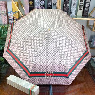新品 GUCCI 折り畳み傘 日傘 晴雨兼用