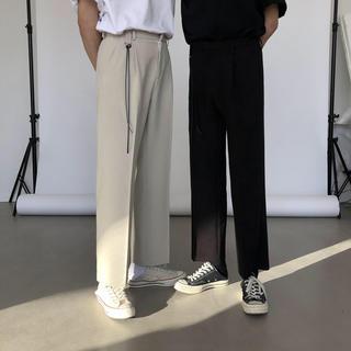 ザラ(ZARA)の 新品 フレアパンツ スラックス ブーツカット クリーム ホワイト 白(スラックス)
