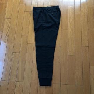 ダブルスタンダードクロージング(DOUBLE STANDARD CLOTHING)のダブスタ ジョガーパンツ 38 ブラック(カジュアルパンツ)