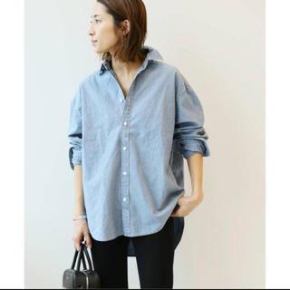 FRAMeWORK - ダンガリーシャツ FRAMeWORK 2019SS 新品未使用 完売品 ブルー