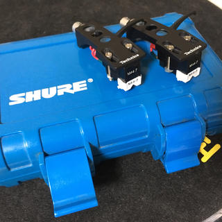 Shure M44-7 2本+Shure純正カートリッジケースセット