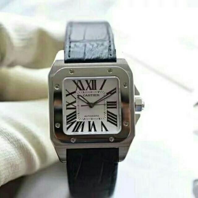 Cartier - カルティエ サントス 100LM W20076X8 自動巻 メンズ 腕時計の通販 by 涙が没収された s shop|カルティエならラクマ