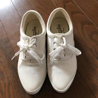 dazzlin - ダズリン スニーカー 白 Mサイズ