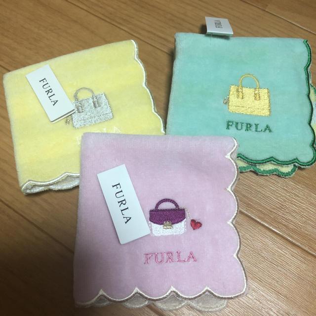 Furla(フルラ)のフルラ❤︎タオルハンカチ レディースのファッション小物(ハンカチ)の商品写真
