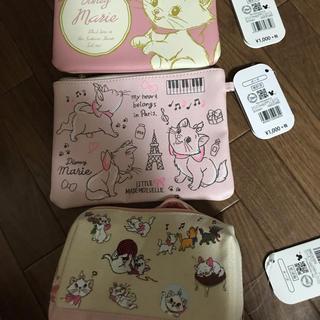 Disney - マリーちゃん ポーチ3つ