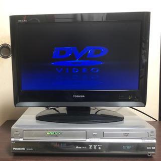 Panasonic - Panasonic 一体型 DVD/ビデオデッキ シルバー NV-VHD1