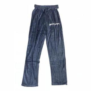PALM ANGELS 19FW chenille track pants xs(スラックス)