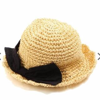 アンパサンド(ampersand)のアンパサンド 帽子 2019 夏物 折り畳みリボンハット(帽子)