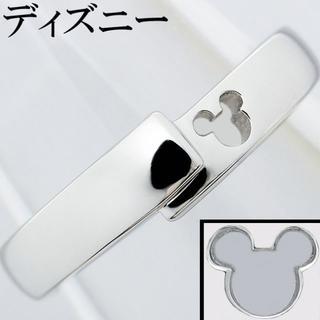 ディズニー(Disney)のディズニー Pt950 プラチナ リング 指輪 ミッキーマウス 石なし 8号(リング(指輪))