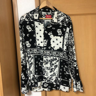Supreme - supreme  オープンカラーシャツ  16ss 柄シャツ バンダナ