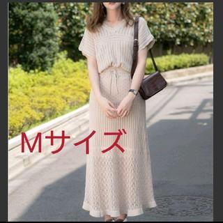 *新品*GU 透かし編みニットスカート