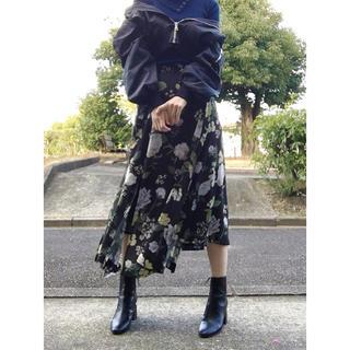 アメリヴィンテージ(Ameri VINTAGE)のRILEY SLIT SKIRT(ロングスカート)