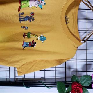 希少◆THE SIMPSONS キャラクター 刺繍ロゴ ピエロ シンプソンズ(Tシャツ/カットソー(半袖/袖なし))