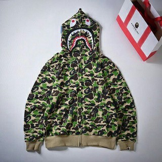 BAPE abc camo sharkシャークパーカーbape sharkベイプ