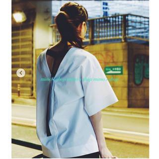 ルシェルブルー(LE CIEL BLEU)のLE CIEL BLUE☆コットントップス(シャツ/ブラウス(半袖/袖なし))