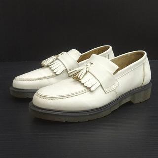 ドクターマーチン(Dr.Martens)のドクターマーチン DrMartens タッセル ローファー ホワイト 8.5(ブーツ)
