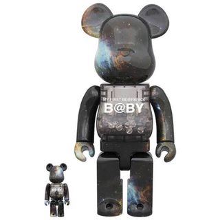 MEDICOM TOY - BE@RBRICK B@BY SPACE Ver.100%&400%