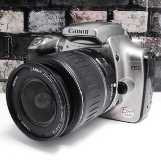 Canon - 【初心者最適機種♪】Canon kiss digital シルバー★