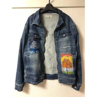 RAF SIMONS - 【別売】Paint Jacket デニムジャケット